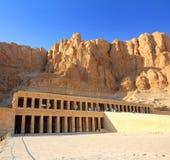 Temple of Hatshepsut in Luxor Egypt Stock Image