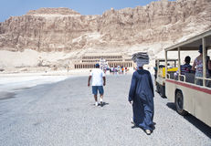 Temple of Hatshepsut - Luxor, Egypt Royalty Free Stock Photo