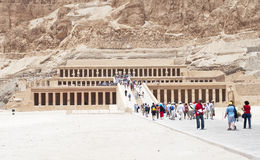 Temple of Hatshepsut - Luxor, Egypt Royalty Free Stock Photos