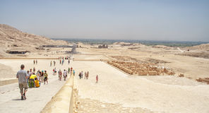 Temple of Hatshepsut in Luxor, Egypt Royalty Free Stock Image