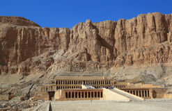 Temple of Hatshepsut in Luxor Egypt Royalty Free Stock Image