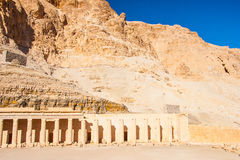 The temple of Hatshepsut near Luxor Stock Photo