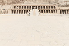 The temple of Hatshepsut near Luxor Stock Images