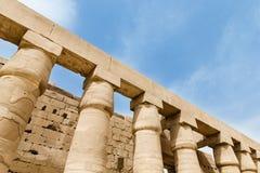 Temple of Hatshepsut near Luxor Stock Photo