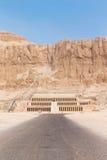 Temple of Hatshepsut near Luxor Royalty Free Stock Photo
