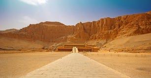 The temple of Hatshepsut Stock Photography
