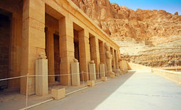 The temple of Hatshepsut Stock Photos