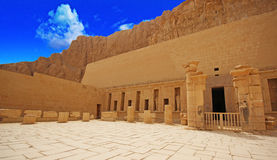 The temple of Hatshepsut Stock Images