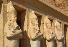 Temple of Hatshepsut near Luxor in Egypt Stock Image