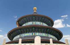 Temple of Heaven (алтар рая), Пекин, Китай Стоковое фото RF