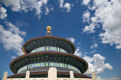 Temple of Heaven (алтар рая), Пекин, Китай Стоковая Фотография