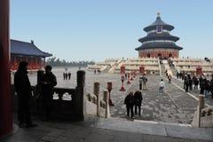 Temple of Heaven в Пекине Китае Стоковая Фотография