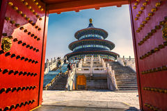 Temple of Heaven в Пекин Стоковые Изображения RF