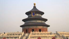 Temple of Heaven в утре, Пекин сток-видео