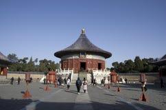Temple of Heaven, перемещение Пекин стоковые фотографии rf