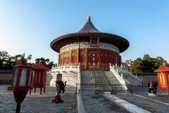 Имперский свод рая в Temple of Heaven, Пекине, Китае стоковое изображение