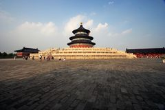 Temple Of Heaven. At Beijing city, China Stock Photo