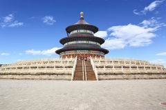 The Temple of Heaven. (Tian Tan) in Beijing, China Stock Images