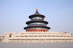Temple of heaven. In Beijing China Stock Photo