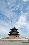 Temple of Heaven. Hall of Prayer for Good Harvest in the Royalty Free Stock Photo
