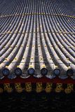 The Temple of Heaven. About 2km southeast of the Forbidden City towers Tian Tan, or the Temple of Heaven, where dynastic rulers in China used to worship the Royalty Free Stock Images