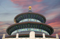 Temple of Heaven (Altar of Heaven), Beijing, China Stock Photography