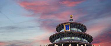 Temple of Heaven (Altar of Heaven), Beijing, China Royalty Free Stock Image