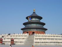 The Temple of Heaven, Beijing. The beautiful Temple of Heaven, located in Beijing, China Stock Photos