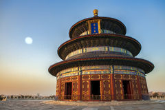 Temple of Heaven in Beijing Royalty Free Stock Image
