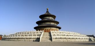 The Temple of Heaven, Beijing. The Temple of Heaven in Beijing, China Royalty Free Stock Images
