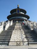 The Temple of Heaven in Beijing Royalty Free Stock Photos