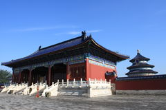 The Temple of Heaven in Beijing Stock Photography