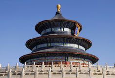 Temple of Heaven in Beijing Royalty Free Stock Photo