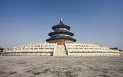 Temple of Heaven, Beijing China Royalty Free Stock Photo