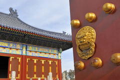 Temple of Heaven in Beijing, China. Stock Images
