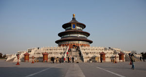 Temple of Heaven in Beijing, China Royalty Free Stock Image