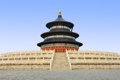 Temple of Heaven,Beijing China. Temple of Heaven The Hall of Prayer for Good Harvest royalty free stock photos