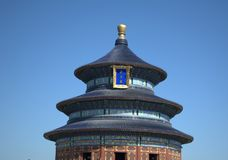 The temple of heaven ,beijing,china Royalty Free Stock Image