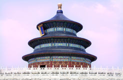 Temple of Heaven in Beijing China Royalty Free Stock Image