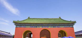 The Temple of Heaven in Beijing, China Royalty Free Stock Photo