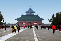 Temple of Heaven in Beijing China Royalty Free Stock Photos