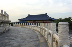 The temple of Heaven. In Beijing, China Stock Photos
