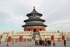 Temple of Heaven. The Temple of Heaven in Beijing, China Stock Photos