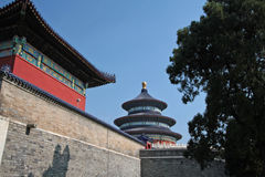 Temple of heaven. Beijing, china Royalty Free Stock Photos