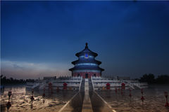 Temple of heaven, Beijing, China stock images