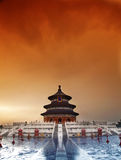 Temple of heaven, Beijing, China royalty free stock images