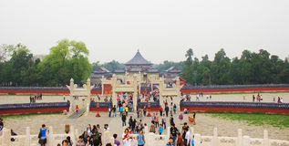 Temple of Heaven in Beijing China Stock Photography