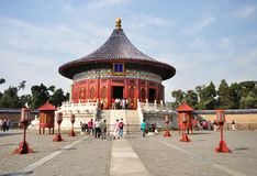 Temple of Heaven, Beijing. Royalty Free Stock Images