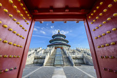 Temple of Heaven in Beijing. Temple of Heaven gateway in Beijing, China Royalty Free Stock Photos