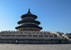 Temple of Heaven in Beijing. Temple of Heaven Hall of Prayer for Good Harvets, Complex of religious buildings in Beijing, China Stock Photography